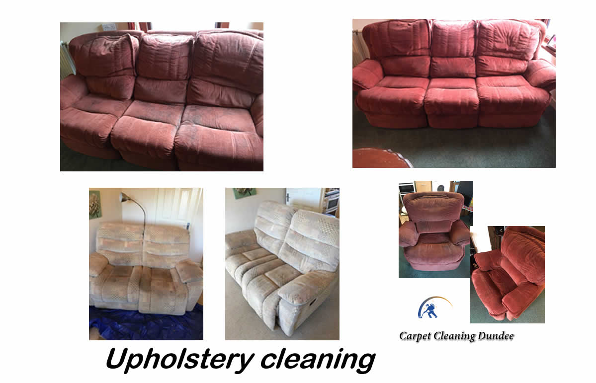 Dundee upholstery cleaning service
